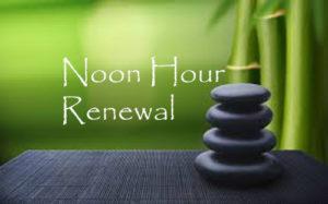 noon hour renewal website copy