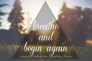 breathe | and begin again.